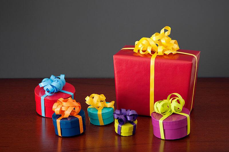 Alle Jahre wieder – Geschenke