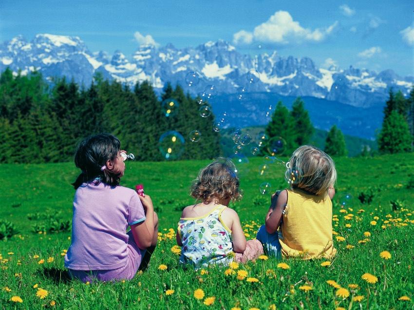 In Südtirol mit Kindern