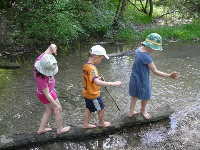 Naturgruppen für Kinder