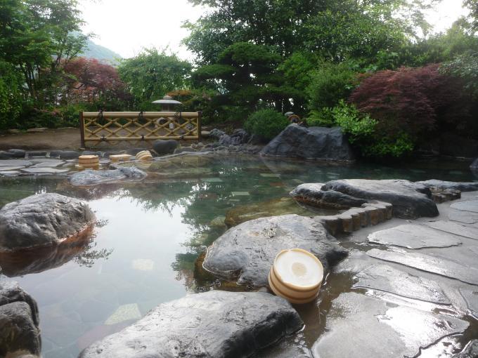 Familienferien in Japan, Teil 4, heiße Thermalquellen