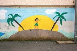 Sonnenschutz im Strandurlaub
