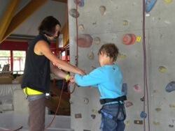 Trendsport Klettern – auch etwas für Kinder?