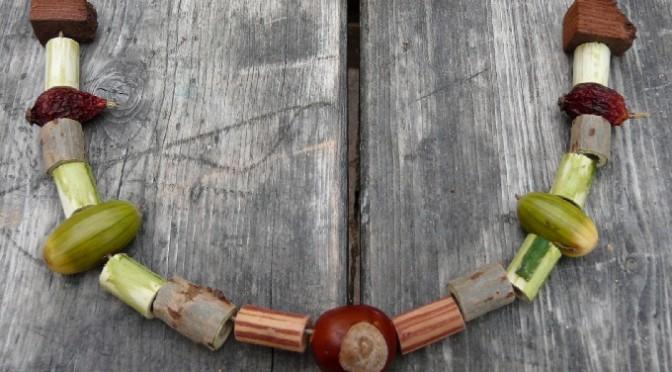 Naturschmuck Kette, Armband