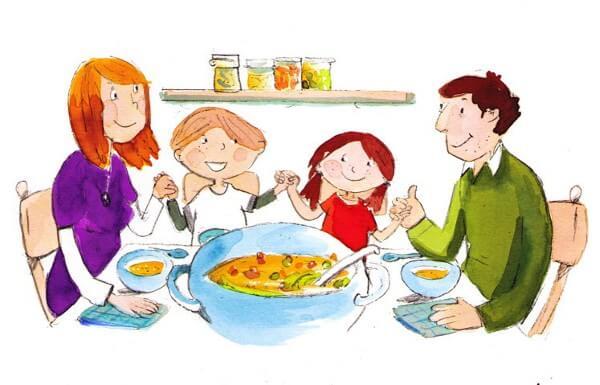 Gemeinsam essen – ein vernachlässigtes Familienritual