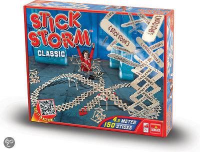 Stäbchenstürme mit dem Spiel Stick Storm