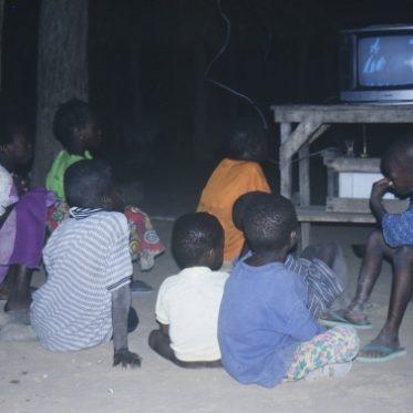 Attraktion Fernseher