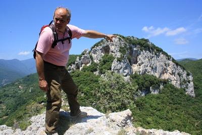 Lorenzo als Wanderführer