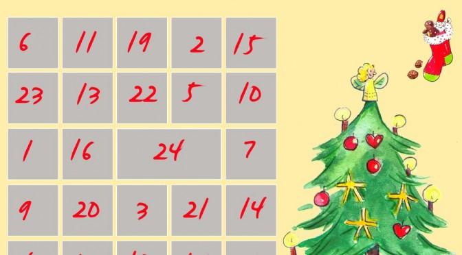 Adventskalender Basteln Zahlen Zum Ausdrucken Meine Svenja